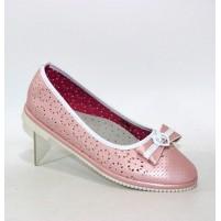 Детские туфли розовые