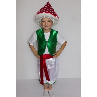 Заказать костюм мухомора детский