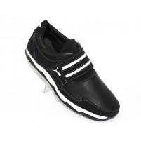 Мужские туфли-кроссовки кожаные