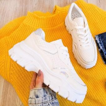 Летние белые кроссовки Украина