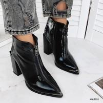 Ботинки деми лаковые