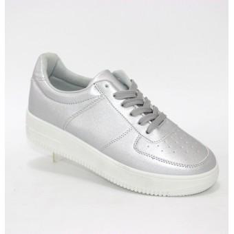 Женские кроссовки серебро Украина