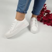 Белоснежные молодежные кроссовки