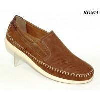 Комфортные мужские туфли кожа