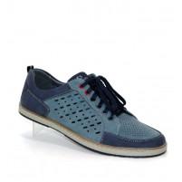 Летние мужские туфли с дырочками