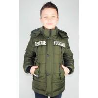 Детские утепленные куртки