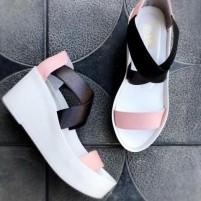 Женские сандалии на ремешках
