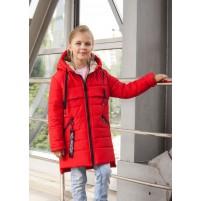 Детская яркая весенняя куртка