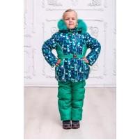 Детский зимний комплект для девочки