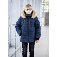 Куртка зимняя съемный капюшон
