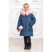 Зимнее детское модное пальто