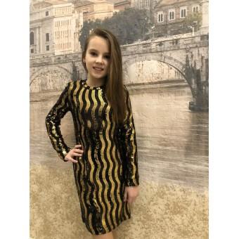 Платье детское трикотажное, заказать недорого низкая цена.