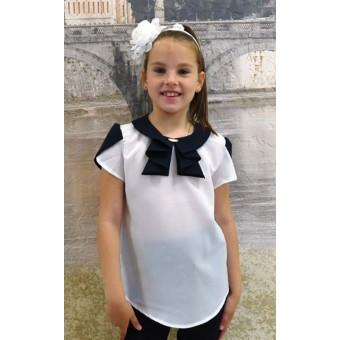 Блуза детская шифон, заказать недорого низкая цена.