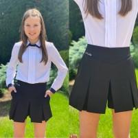 Модные шорты-юбка для девочек