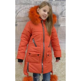 Детская куртка с опушкой, заказать недорого низкая цена.