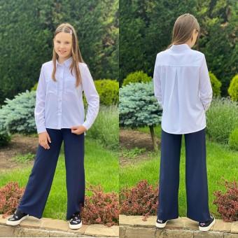 Модная рубашка для девочек , заказать недорого низкая цена.