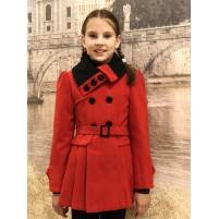 Пальто кашемировое для девочек