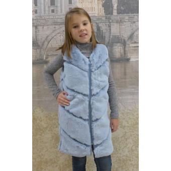 Детская жилетка из искусственного меха, заказать недорого низкая цена.