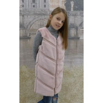 Детские меховые жилетки украина, заказать недорого низкая цена.
