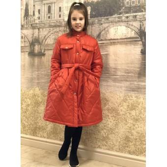 Демисезонное детское пальто, заказать недорого низкая цена.