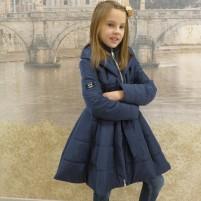 Детское пальто клеш