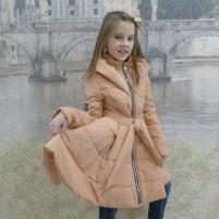 Детское пальто расклешенное
