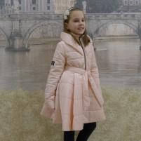 Пальто утепленное детское