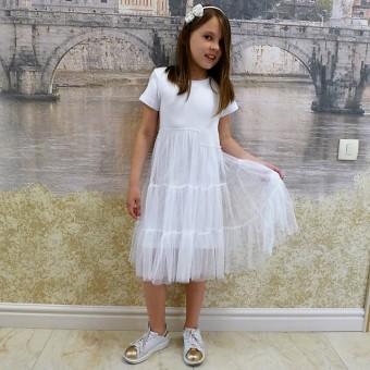 Платье для девочки подростка детское