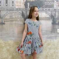 Легкое летнее детское платье