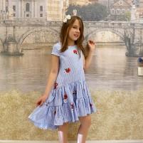 Летнее платье подростку