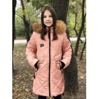 Пальто детское зима