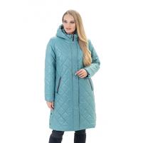 Демисезонная женская удлиненная куртка
