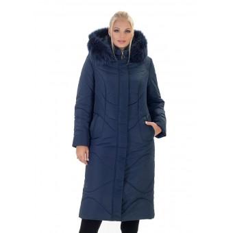 Зимняя женская теплая удлиненная куртка недорого