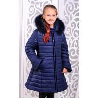 Куртка пальто детское зимнее