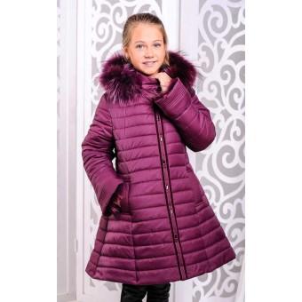 Куртка пальто детское с мехом, заказать недорого низкая цена.