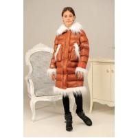 Модельная зимняя детская куртка