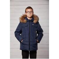Зимняя теплая куртка для мальчиков