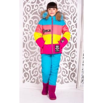 Комбинезон на девочку зима, заказать недорого низкая цена.