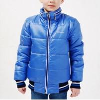 Демисезонная куртка бомбер на мальчика
