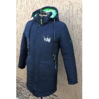 Зимняя подростковая куртка с капюшоном