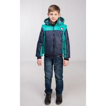 Куртка-жилет для мальчика, заказать недорого низкая цена.