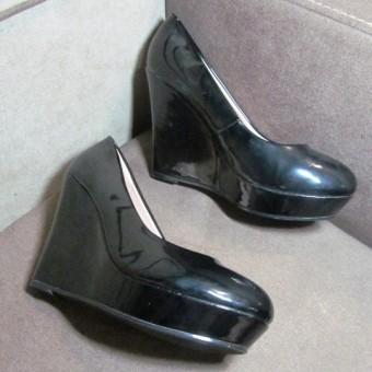 Закрытые туфли на платформе, заказать недорого низкая цена.