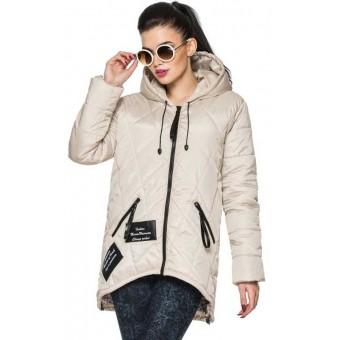 Куртка удлиненная женская демисезонная недорого