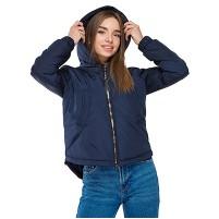 Куртка весенняя с ассиметричным низом