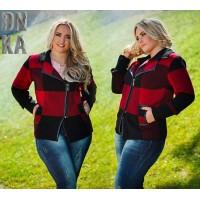 Демисезонные куртки женские больших размеров (11)
