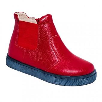 Ортопедические красные ботинки Украина