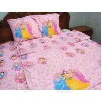 Детская постель с принцессами