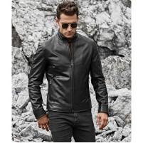 Куртка мужская из кожзама