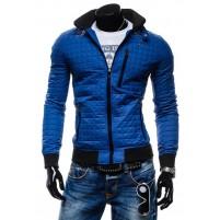 Модная мужская приталенная куртка