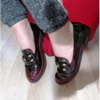 Туфли лакированные женские, заказать недорого низкая цена.